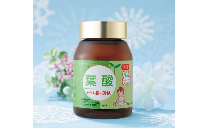 日本madonna 叶酸+铁+DHA 90粒入 无添加 孕产妇必备